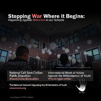 2nd International Week of Action Against the Militarisation of Youth