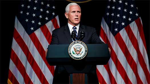 U.S. Vice President Pence announces Space Force: Star Wars Generation already in approval