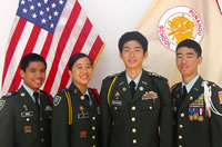 JROTC cadets in Hawaii