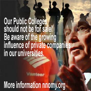 Our Public Colleges should not be for sale!