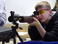 JROTC Shooters Compete at Post's Expanded Range