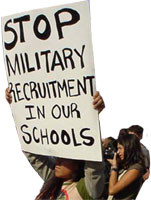Stop Military Recruitment in our schools
