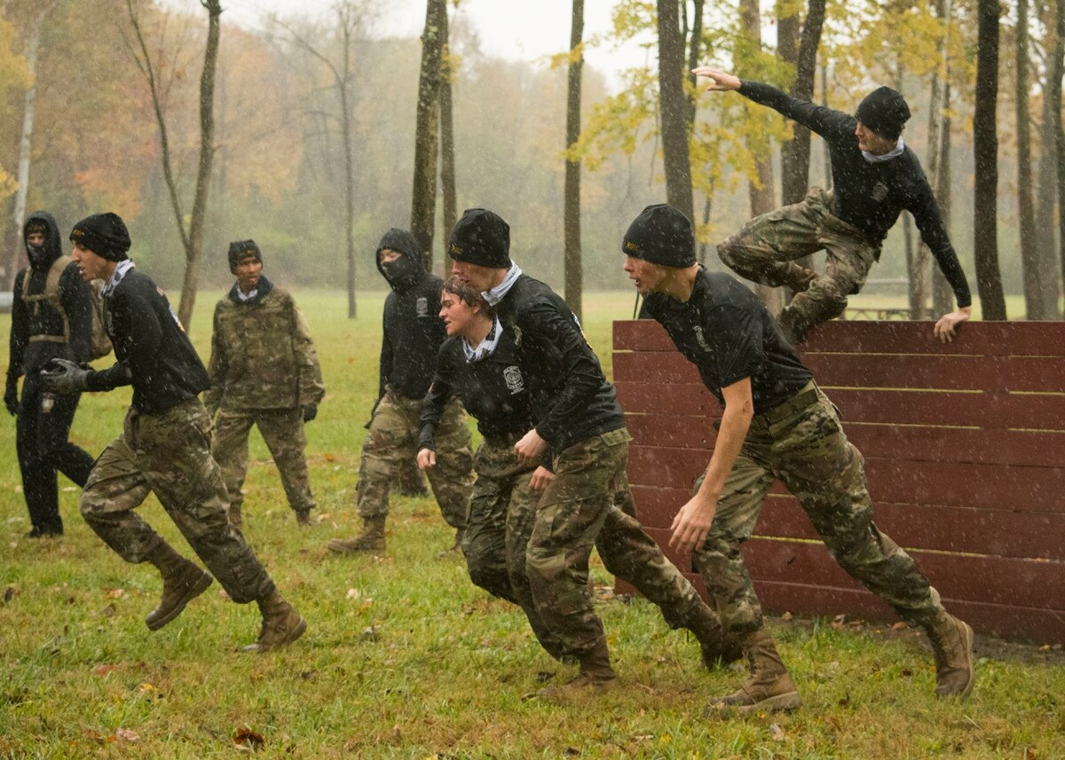 Indiana JROTC Cadets compete in the first State Raider Championship. (Capt. Jesse Bien/Army) Image: DOD