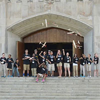 16 CFES Scholars were among the 92 middle school students nationwide who spent three days at the United States Military Academy at West Point last week for the summer STEM  (Science, Technology, Engineering, & Math) Workshop