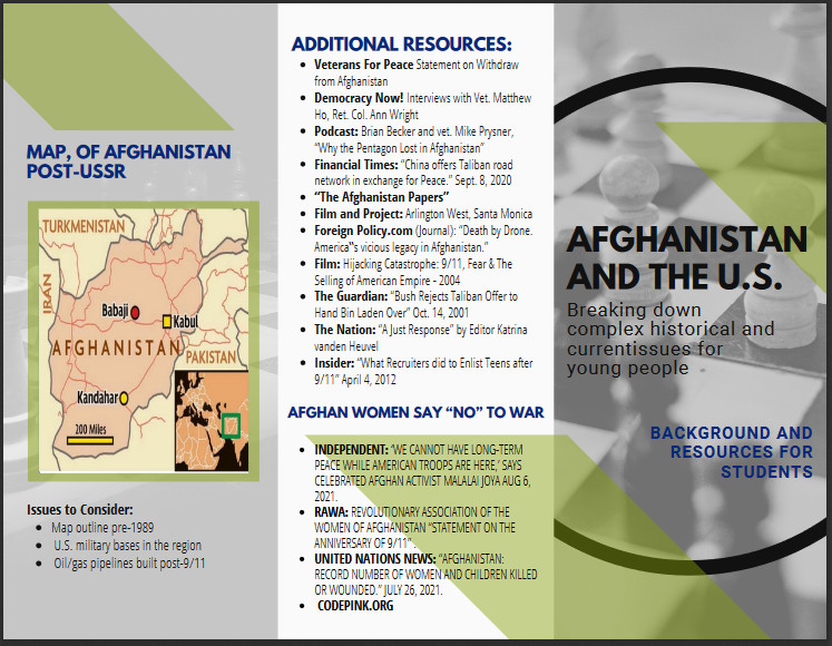 Afghanistan and the U.S.